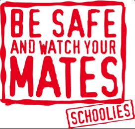 Be Safe Schoolies Slogan
